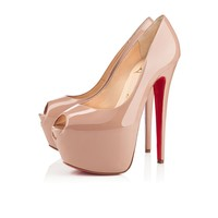 Highness 160mm Nude Patent Leather