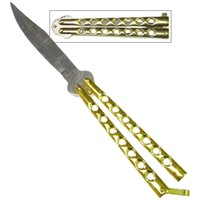 Classic Butterfly Knife- Gold