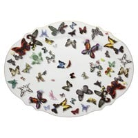 Christian Lacroix Butterfly Parade Large Oval Platter