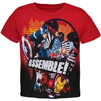 Avengers - On the Grid Juvy T-Shirt