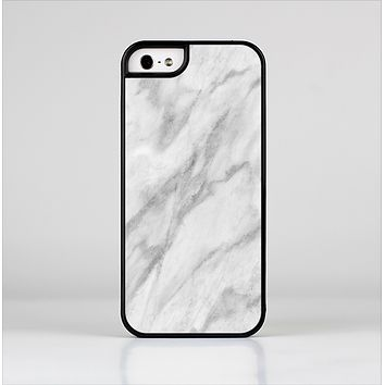 The White Marble Surface Skin-Sert Case for the Apple iPhone 5/5s