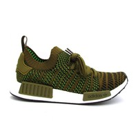 ADIDAS NMD_R1 STLT PK SNEAKERS BROWN GREEN WHITE CQ2389