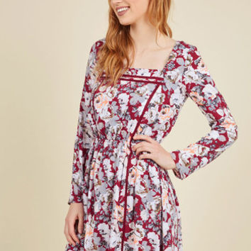 Farm to Folk Floral Dress | Mod Retro Vintage Dresses | ModCloth.com