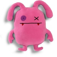 Ugly Doll Double Trouble Ox Pink & Purple Plush