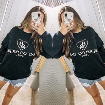 PLUS Bad + Boujee Sweatshirt
