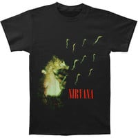 Nirvana Men's  Seahorse Slim Fit T-shirt Black Rockabilia