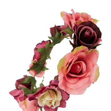 Rose Flower Crown | Forever 21 - 1000223386