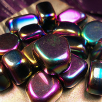 "RAINBOW HEMATITE ""Bright Future Stone"" Balance Your Aura - Rapidly Moves Energy & Helps Raise Your Vibration - Manifest Your Desires"
