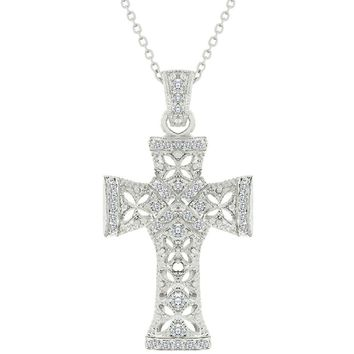 Elegant Cross Pendant