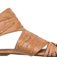 LEATHER GLADIATOR SANDAL