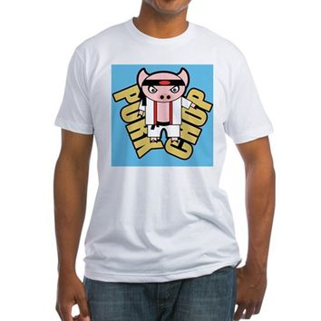 Pork Chop BBG Fitted T-Shirt