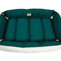 Armarkat Pet Bed 64-Inch by 50-Inch D04HML/MB-Xtra Large Green & Ivory