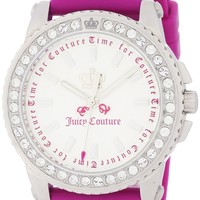 Juicy Couture Pedigree Pink Jelly Watch 1900703