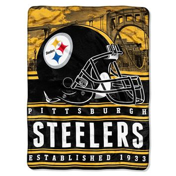 Pittsburgh Steelers Silk Touch Throw Blanket by Northwest