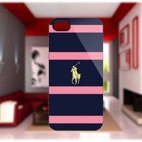 Ralph Lauren Navy Blue case For iPhone 4/4S iPhone 5 Galaxy S2/S3/S4