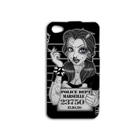 Disney Punk Tattoo iPhone Case Cute Mug Shot iPod Case Funny Princess iPhone Case iPhone 4 iPhone 5 iPhone 5s iPhone 4s iPhone 5c iPod 4