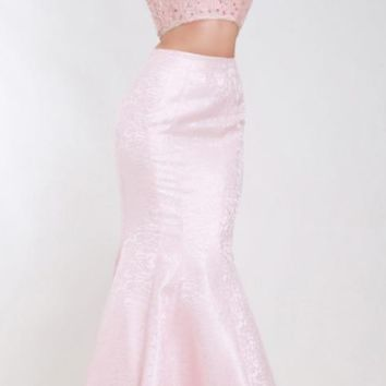 Sexy Evening Dresses Mermaid Long V-neck Backless Crystal Beading Formal Prom Dresses for Woman