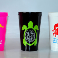 Personalized Summer Tumbler Party Cup