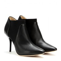 jimmy choo - decant leather ankle boots