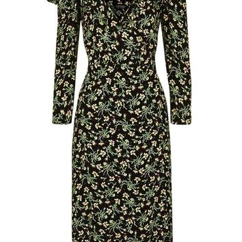 Garden Floral Print Midi Dress - Last of Summer - We Love