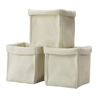 "KOMPLEMENT Basket, white - 11 ¾x13 ½x12 ½ "" - IKEA"