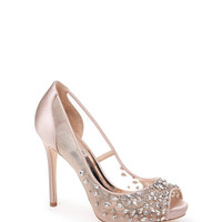 PEPPER EMBELLISHED EVENING SHOE