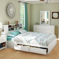 Vito Storage Platform Bed-Queen - Beds at Hayneedle