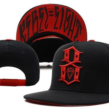 hcxx Rebel8 Snapback Baseball Hat Black