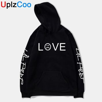 UplzCoo Men Women Lil Peep Love Winter Hoodies Sweatshirts Hooded Pullover Casual Boys Girls Homme Harajuku Fashion Hoodie JA001