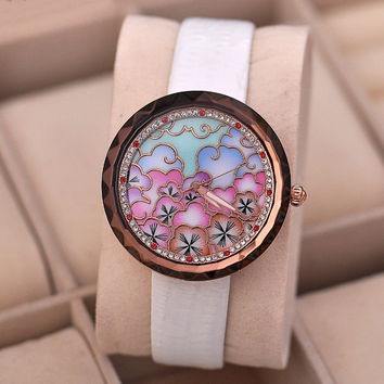 New Arrival Gift Designer's Great Deal Awesome Trendy Good Price Ladies Stylish Leather Luxury Watch [4919942212]