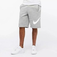 """ NIKE "" New Fashion Men Casual Sport Shorts Gray"