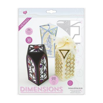 Dimensions - Cathedral Gift Box Die Set - 1840E