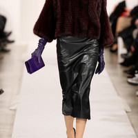 Oscar de la Renta | Leather pencil skirt | NET-A-PORTER.COM