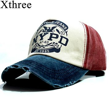 xthree wholsale brand cap baseball cap fitted hat Casual cap gorras 5 panel hip  hop snapback 0bb0c3bbf7c0