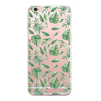 Crushed Leaves Printed cover Cover for iPhone 6 7 7 Plus