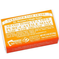 Dr Bronners Magic Soap All One Obtt05 5 Oz Tea Tree Dr. Bronner'S Bar Soap