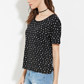 N° 1 Love Graphic Tee | Forever 21 - 2000151790