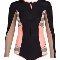 Body Glove Distraction Paddle Suit One Piece Swimsuit