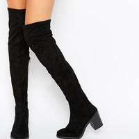 ASOS KICK IT OFF Over The Knee Boots