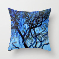AND GOD SAID GOOD MORNING Throw Pillow by Sherri of Palm Springs | Society6