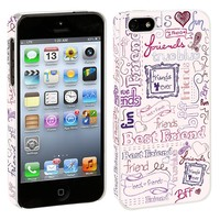 Friends Pink iPhone 5 Hard Shell Case