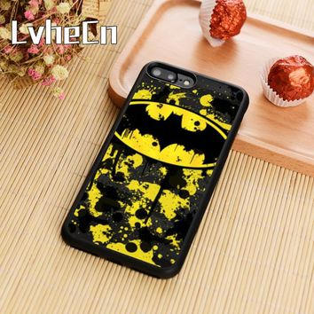 Batman Dark Knight gift Christmas LvheCn Marvel Comics Batman Phone Case Cover For iPhone 4 5s SE 6 6s 7 8 plus 10 X Samsung Galaxy S5 S6 S7 edge S8 S9 note 8 AT_71_6