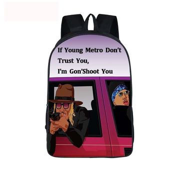 2pac tupac Hip Hop Book Bag For Teenage Children School Bags Only God Can Judge Me Backpack Boys Girls Hipster Laptop Backpack