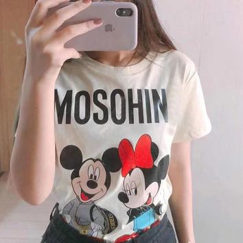 Moschino Oversize cotton T-shirt