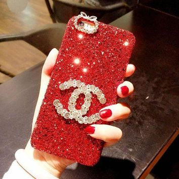 Hot Sale CHANEL 2018 ! iPhone X iPhone 8 plus - Stylish Lovely On Sale Hot Deal Matte Couple Phone Case For iphone 6 6s 6plus 6s plus Red I