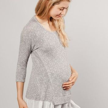 Darling Maternity Sweater