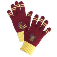 Gryffindor™ Striped Gloves | Universal Orlando™