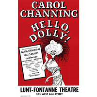Hello Dolly 11x17 Broadway Show Poster