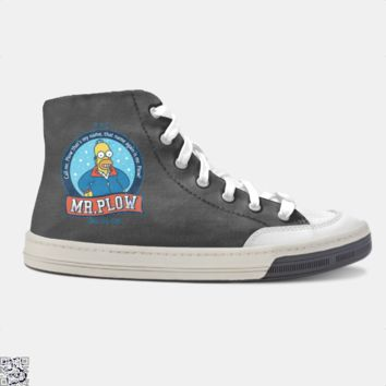 Call Mr Plow, The Simpsons Skate Shoe