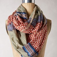 Es Campur Infinity Scarf by Anthropologie in Red Size: One Size Scarves